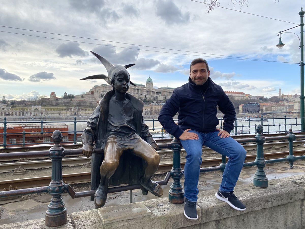 Jorge Bravo Pratscher in Budapest