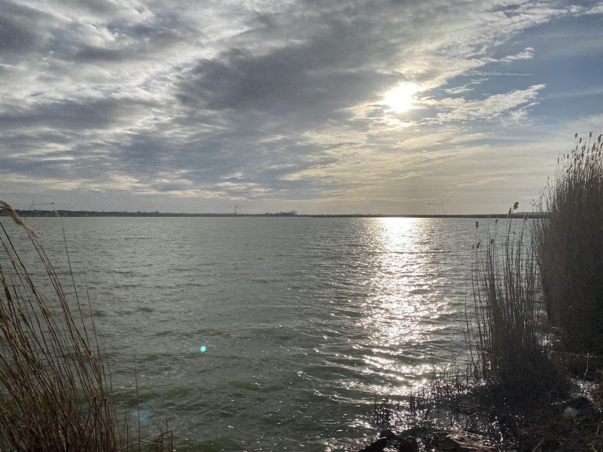Velence Lake in Winter