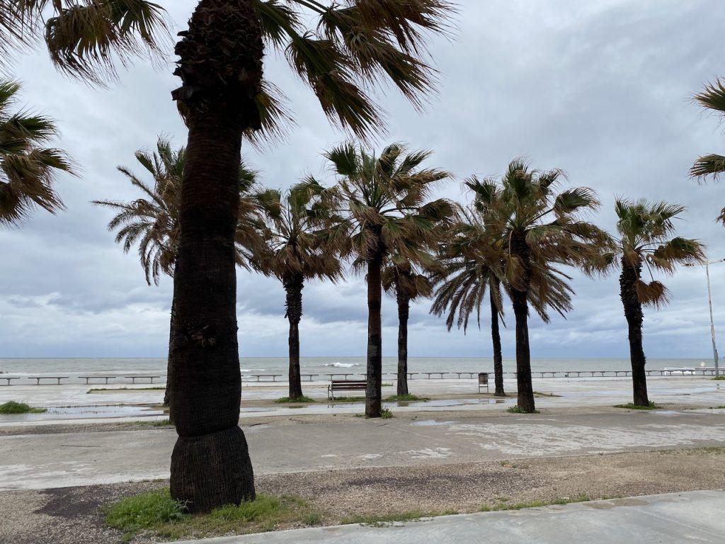 Barcelona beach during Covid-19 Lockdown