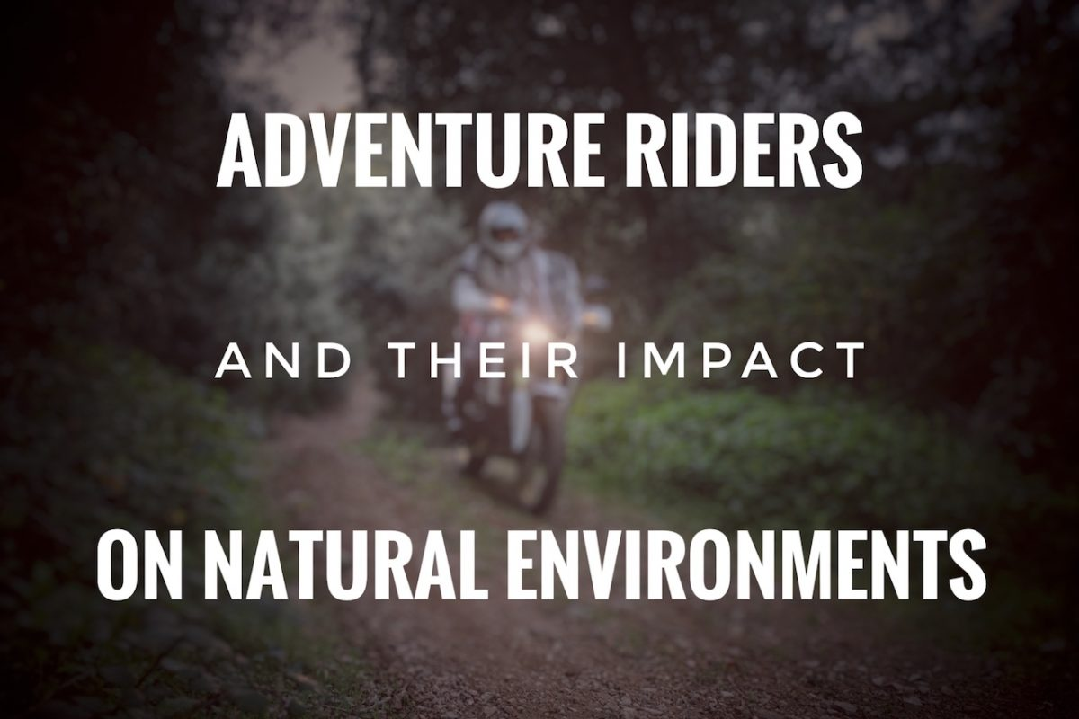 adventure riding and nature