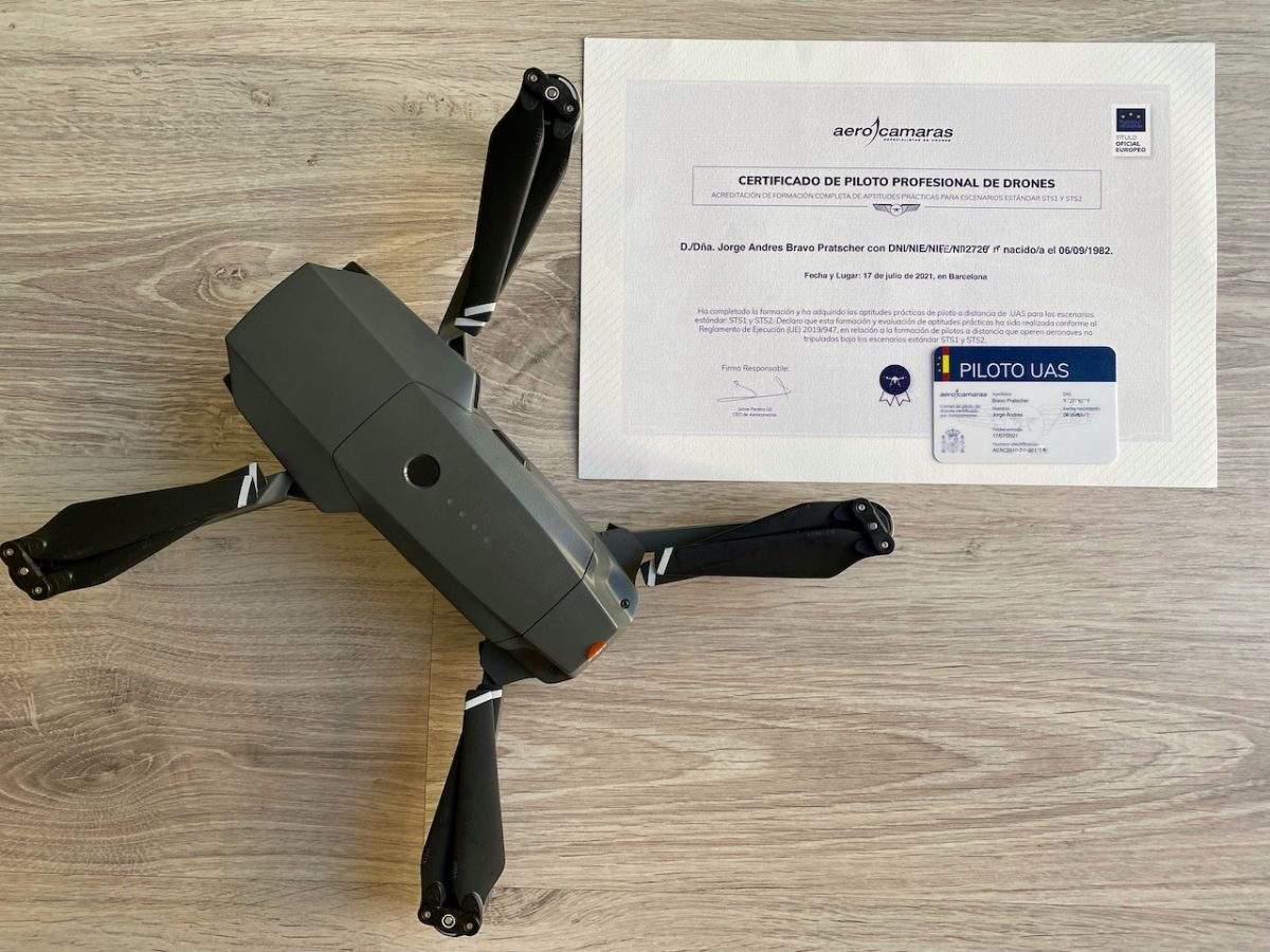 UAS Licence STS-2